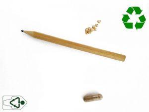materiales necesarios para hacer un lapiz plantable