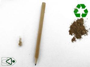 como hacer un lapiz plantable con una capsula de medicamentos