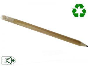 lapiz plantable hecho a mano con materiales de casa