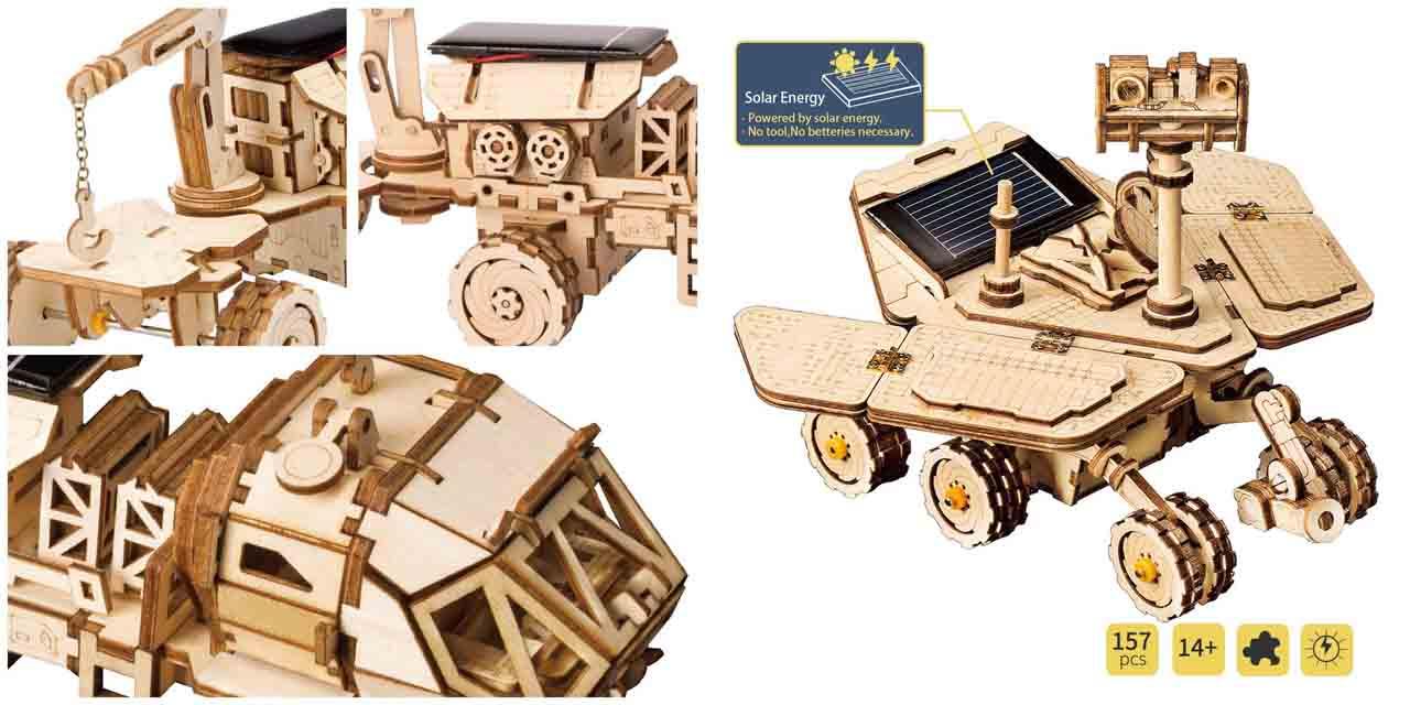 Los juguetes ecológicos solares de robotime son ideales para educación ambiental